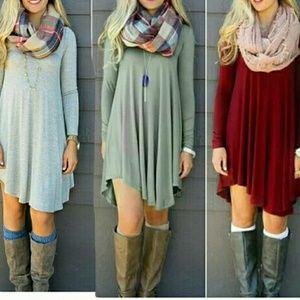 Women Longsleeve Dress